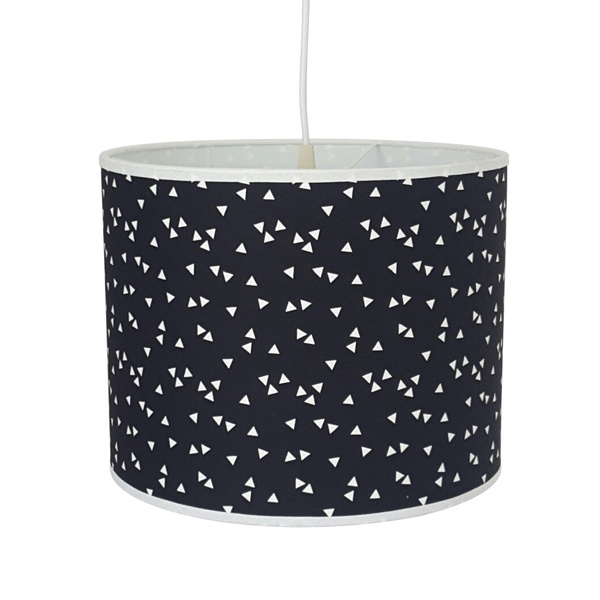 Lamp triangel  zwart