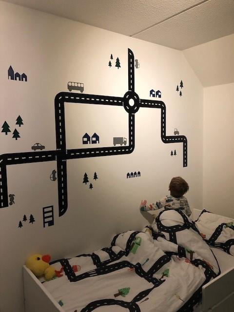 Kinderkamer van zoon Sabine