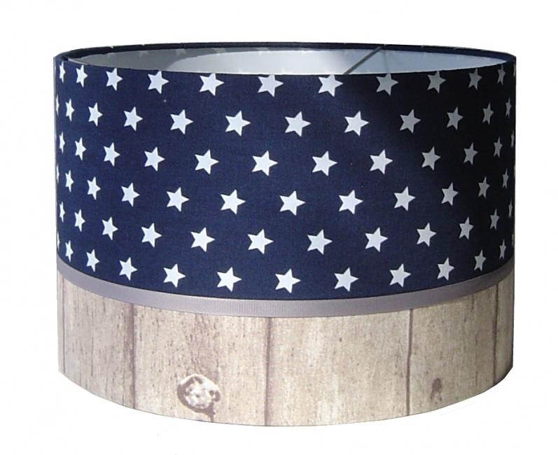 Lamp jongenskamer blauw met sterren