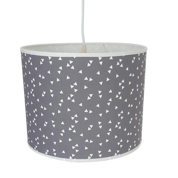 Lamp triangel  grijs