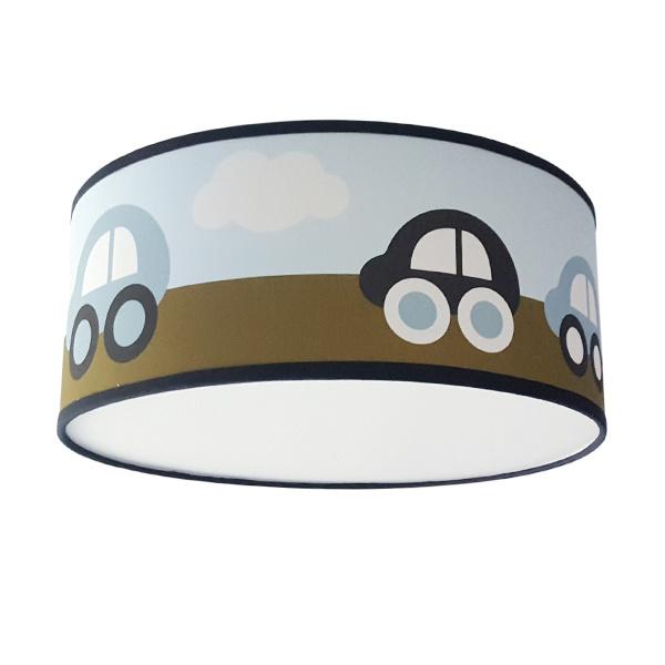 Lamp auto blauw olijfgroen