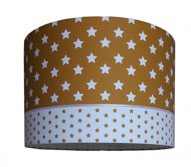 Lamp babykamer oker geel met sterren