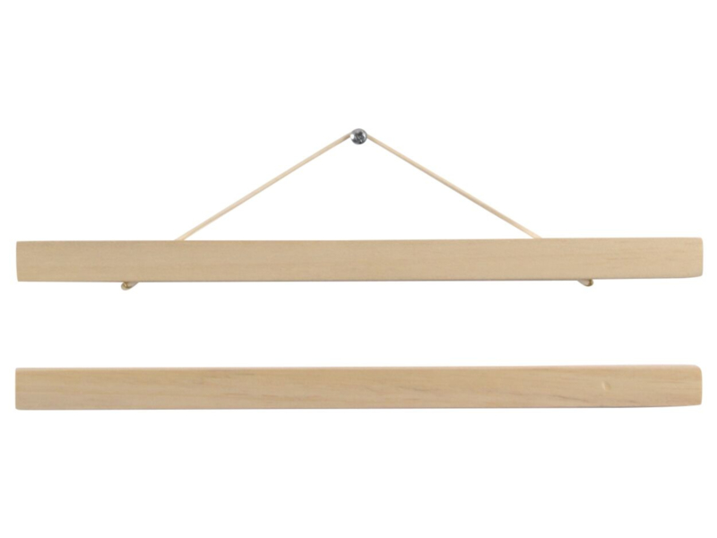 Poster hanger blank hout -  A4 formaat