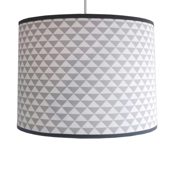 Lamp driehoek grijs