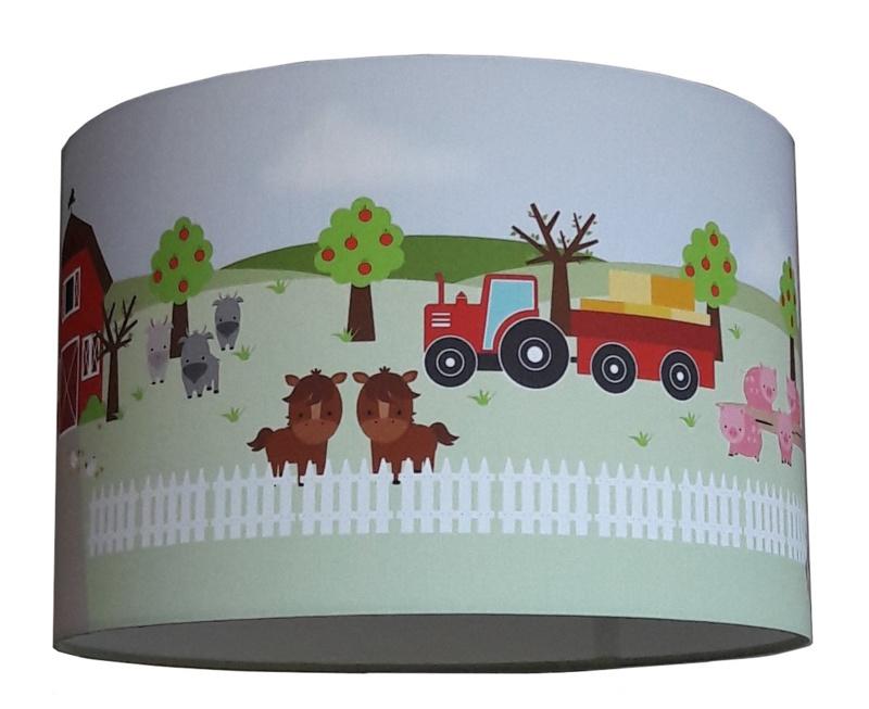 Kinderkamer boerderij lamp