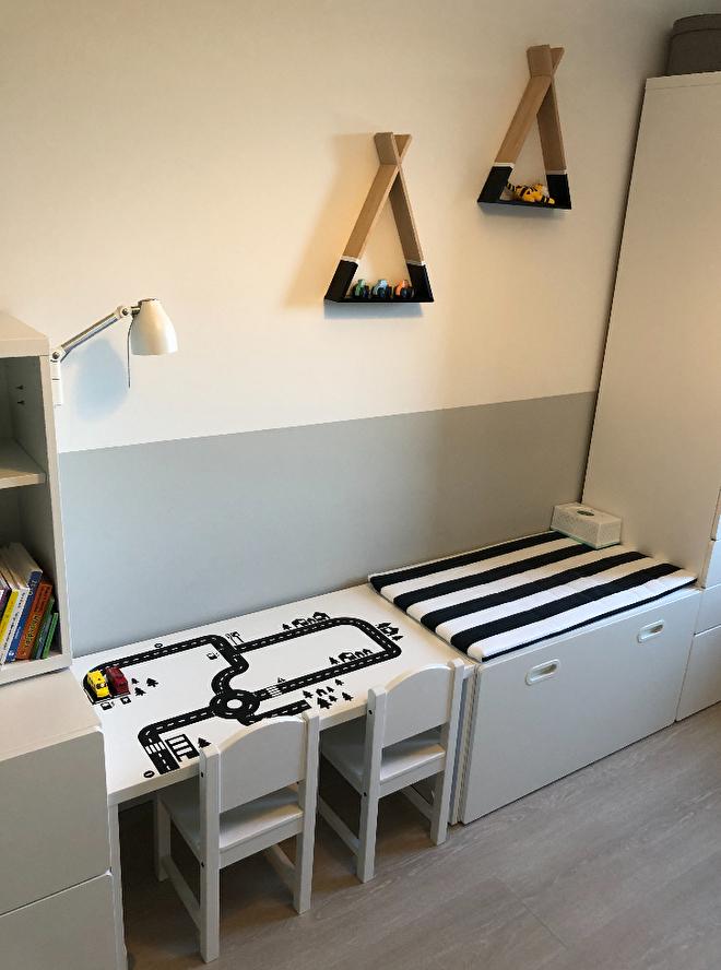 Ideeen Kleine Kinderkamer.5 Verf Ideeen Voor Kinderkamer Babykamer De Kleine Auto