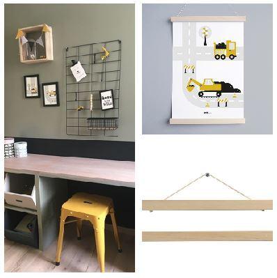 Fotos Ophangen Zonder Lijst.5 Ideeen Voor Het Ophangen Van Een Poster Zonder Boren De