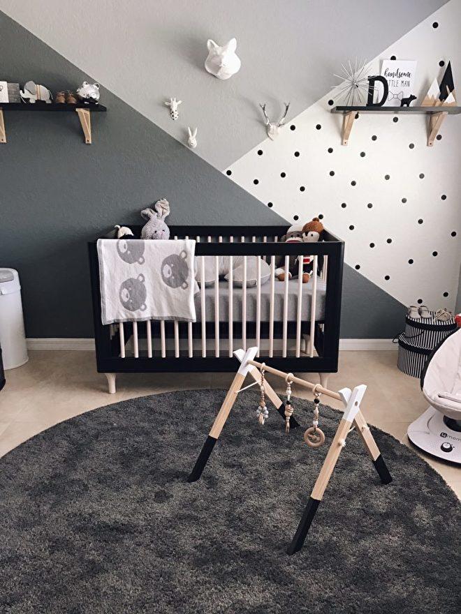 Babykamer Muur Ideeen.5 Verf Ideeen Voor Kinderkamer Babykamer De Kleine Auto