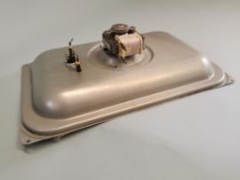 Achterplaat + motor + waaier + verwarmingselement magnetron Whirlpool