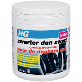 HG Zwarter dan zwart