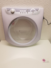 Deur front wasmachine Ariston