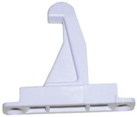 Deurhaak Wit Bosch Siemens droger 5 cm