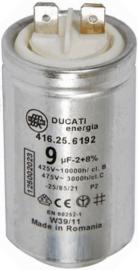Condensator 9 uF aanloopcondensator