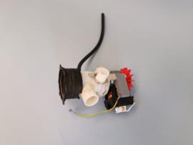 Afvoerpomp met filterhuis wasmachine Aeg
