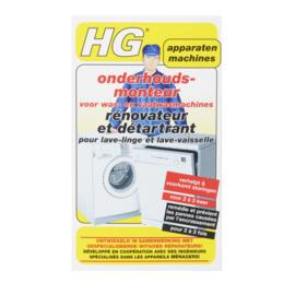 HG Reiniger Onderhoudsmonteur voor wasmachine en vaatwasser