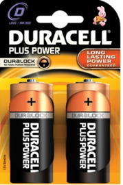 Batterij Plus Power 1,5 Volt. D Mono LR20