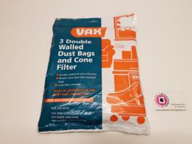 Stofzuigerzakken met filter VAX