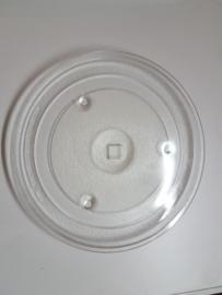 Glasplaat van draaiplateau vierkante as 31.5 cm