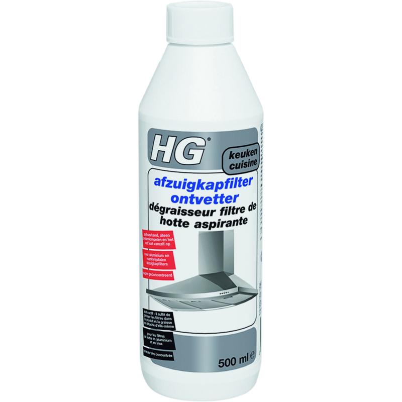 HG Afzuigkapfilter Reiniger