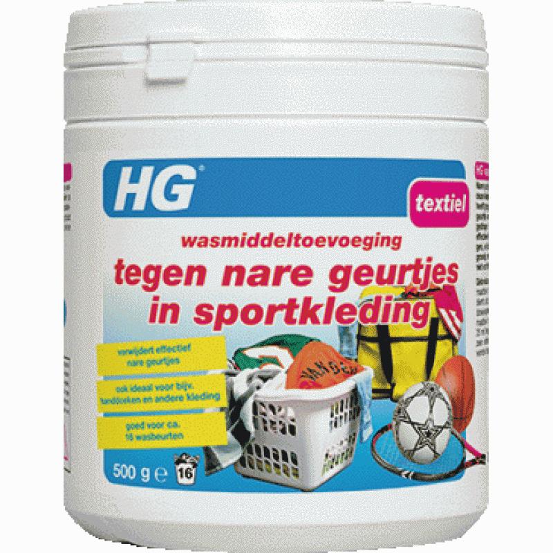 HG Wasmiddeltoevoeging Reiniger voor nare sportgeuren