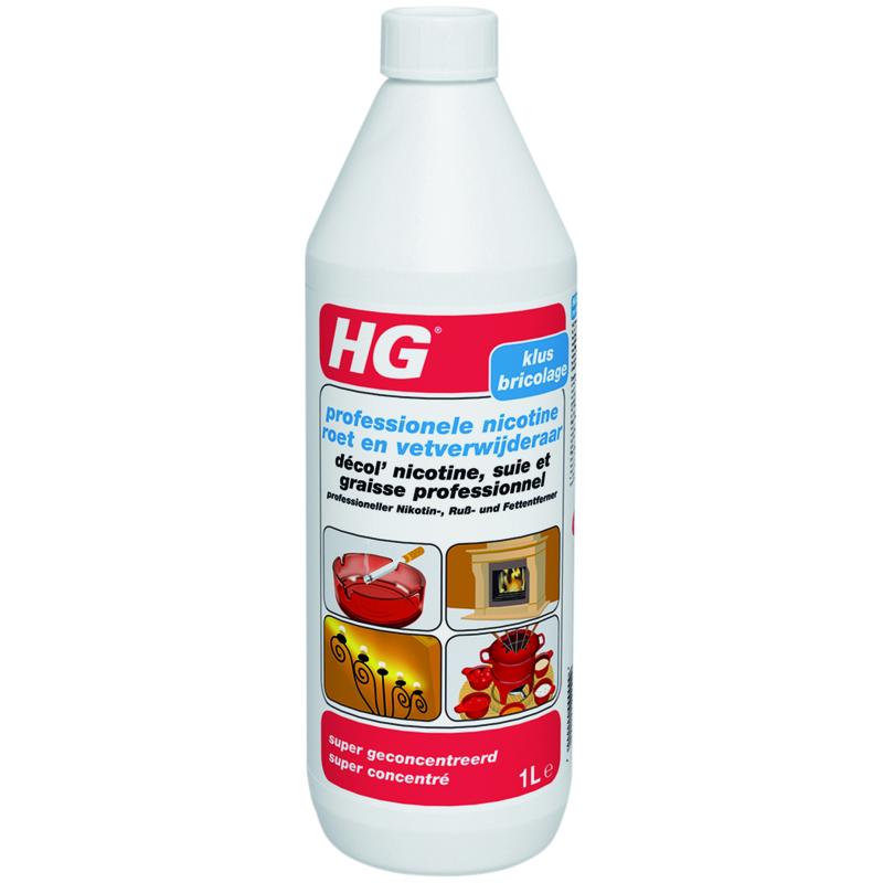 HG  Nicotine, roet en vet Reiniger