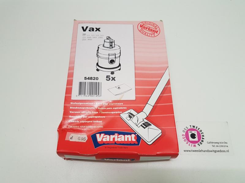 Stofzuigerzakken VAX 54820