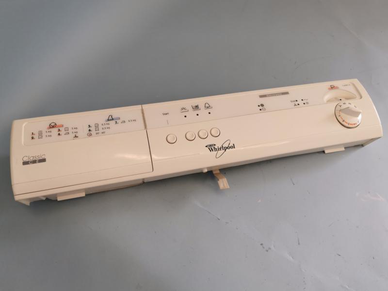 Module besturing met front droger Whirlpool