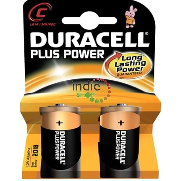 Batterij Plus Power 1,5 Volt. C Baby