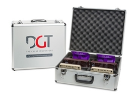 DGT aluminium storage case for 10 clocks