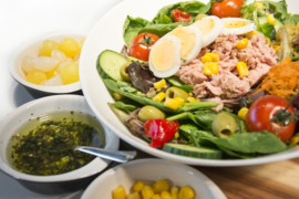 Maaltijdsalade tonijn extra