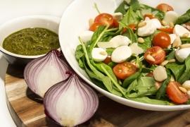 Maaltijdsalade tomaat/mozzarella