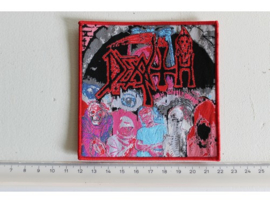 DEATH - ALL DEATH ( RED BORDER ) WOVEN