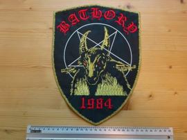 BATHORY - 1984 ( GOLD BORDER )