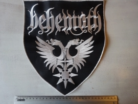 BEHEMOTH - NAME + LOGO ON SHIELD