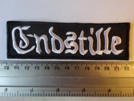ENDSTILLE - WHITE LOGO