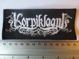KORPIKLAANI - WHITE/GREY LOGO