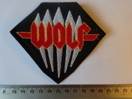 WOLF - YELLOW/RED LOGO