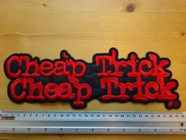 CHEAP TRICK - RED NAME LOGO