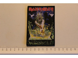 IRON MAIDEN - NO PRAYER FOR THE DYING ( BLACK BORDER ) WOVEN