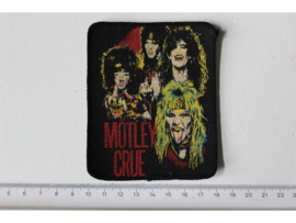 MOTLEY CRUE - BAND PHOTO 2 ( ORIGINAL 80'S ) PRINT