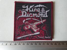 KING DIAMOND - PUPPET MASTER RED  BORDER