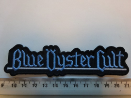 BLUE OYSTER CULT - BLUE NAME LOGO