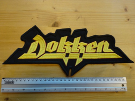 DOKKEN - YELLOW NAME LOGO