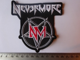 NEVERMORE - RED/WHITE LOGO
