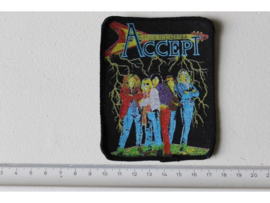 ACCEPT - BAND PHOTO ( ORIGINAL 80'S ) PRINT