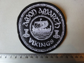AMON AMARTH - VIKINGS ( WHITE LOGO )