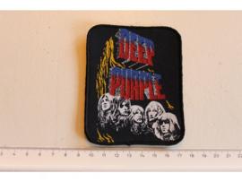 DEEP PURPLE - BLACKMORE/GILLAN/PAICE/LORD/GLOVER ( ORIGINAL 80'S ) PRINT