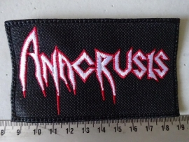 ANACRUSIS - WHITE/RED LOGO