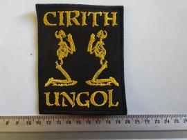 CIRITH UNGOL - GOLD LOGO