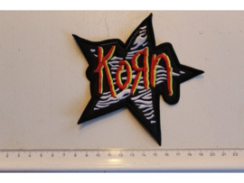 KORN - RED/YELLOW STAR LOGO